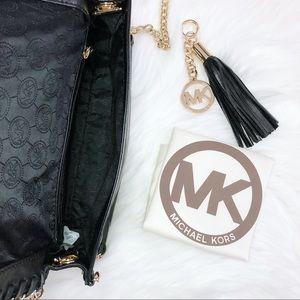 Michael Kors Bags - Michael Kors Red Leopard Shoulder Bag/Clutch